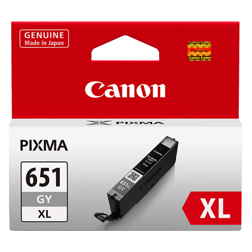 Canon CLI-651XLGY Grey High Yield (Genuine) title=