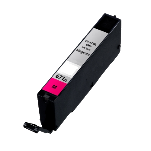 Compatible CLI-671XLM Magenta Ink Cartridge