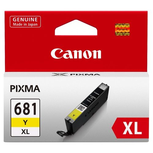 Canon CLI-681XLY Yellow High Yield (Genuine) title=