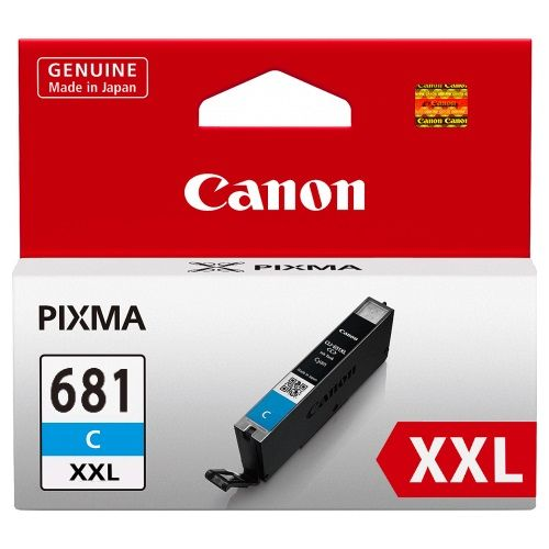 Canon CLI-681XXLC Cyan Extra High Yield (Genuine) title=