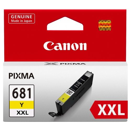 Canon CLI-681XXLY Yellow Extra High Yield (Genuine) title=