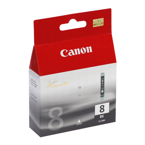 Canon CLI-8BK Photo Black (Genuine) title=