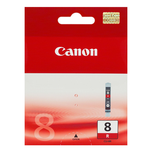 Canon CLI-8R Red (Genuine) title=