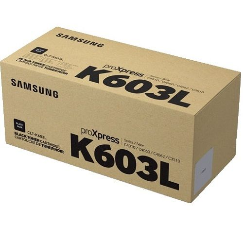 Samsung CLT-K603L Black Toner Cartridge (Genuine) title=