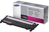 Samsung CLT-M406S Magenta Toner Cartridge Genuine