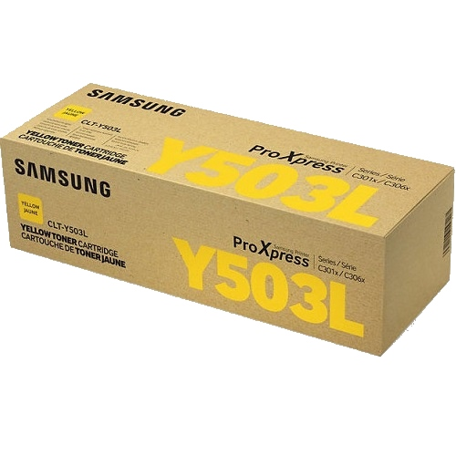Samsung CLT-Y503L Yellow High Yield (Genuine) title=