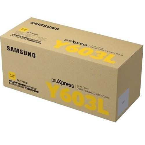 Samsung CLT-Y603L Yellow Toner Cartridge (Genuine) title=