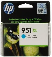 HP 951XL Cyan Ink Cartridge Genuine (CN046AA)