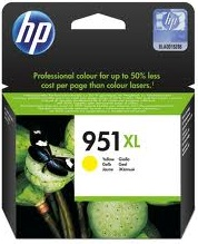HP 951XL Yellow Ink Cartridge Genuine (CN048AA)
