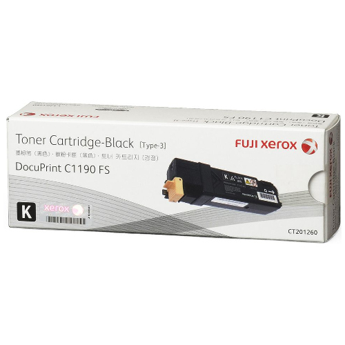 Fuji Xerox CT201260 Black (Genuine) title=