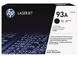 HP 93A Black Toner Cartridge Genuine (CZ192A)