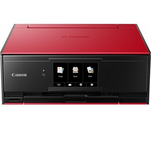 Canon PIXMA TS9160 Red Multifunction Colour InkJet Wireless Printer title=