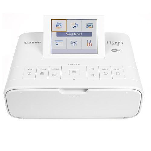 Canon SELPHY CP1300W Colour Photo Wireless Printer title=