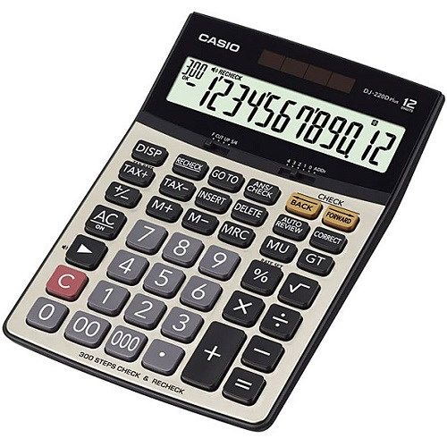 Casio DJ-220D Plus Calculator