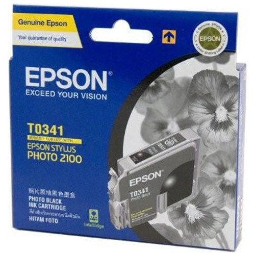 DISCONTINUED - Epson T0341 Photo Black (Genuine) title=