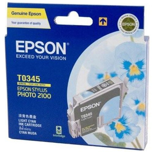 Epson T0345 Light Cyan (Genuine) title=