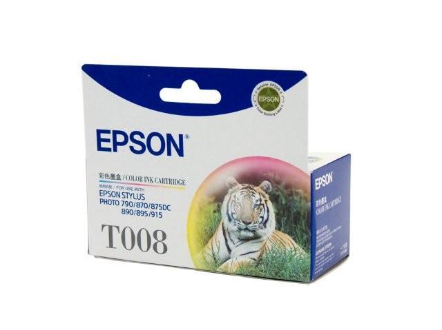 Epson T008 Colour Ink Cartridge Genuine