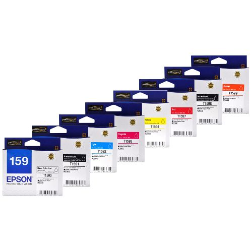 Epson 159 8 Pack Bundle (Genuine) title=