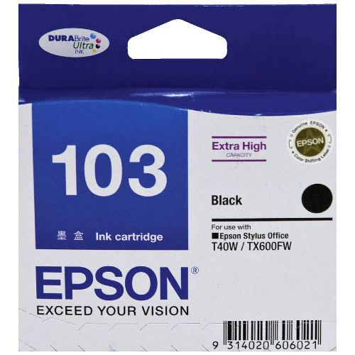 Epson 103 Black High Yield (T1031) (Genuine) title=