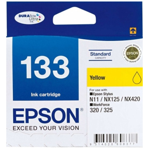 Epson 133 Yellow (C13T133492) (Genuine) title=