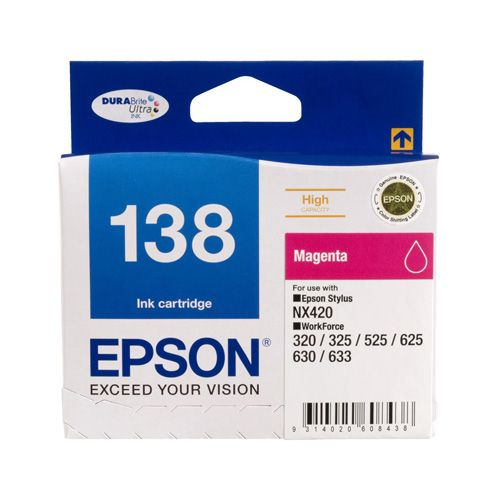 Epson 138 Magenta High Yield (C13T138392) (Genuine) title=