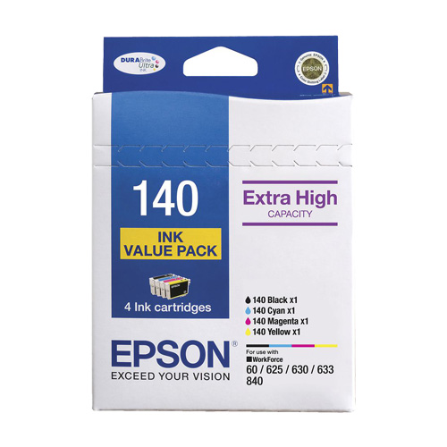 Epson 140 4 Pack Bundle (Genuine)