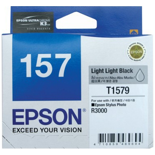 Epson 157 Light Light Black (C13T157990) (Genuine) title=