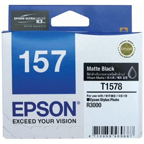Epson 157 Matt Black (C13T157890) (Genuine) title=