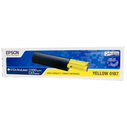 DISCONTINUED - Epson 0187 Yellow (S050187) (Genuine) title=