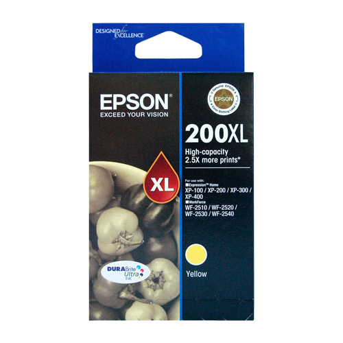 Epson 200XL Yellow High Yield (C13T201492) (Genuine) title=