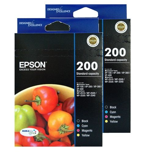 Epson 200 8 Pack Bundle (Genuine) title=