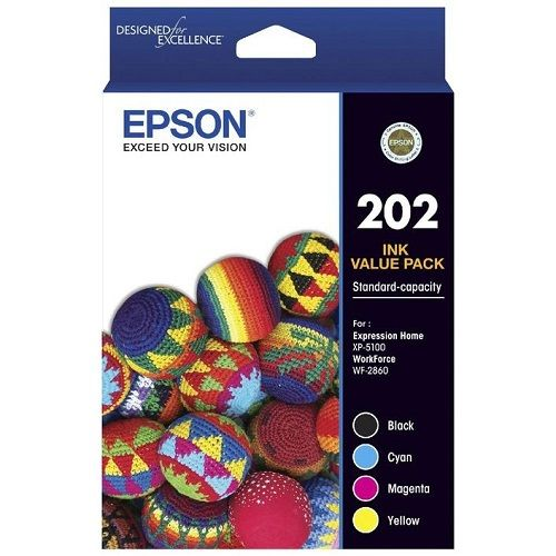 Epson 202 4 Pack Value Pack (C13T02N692) (Genuine) title=