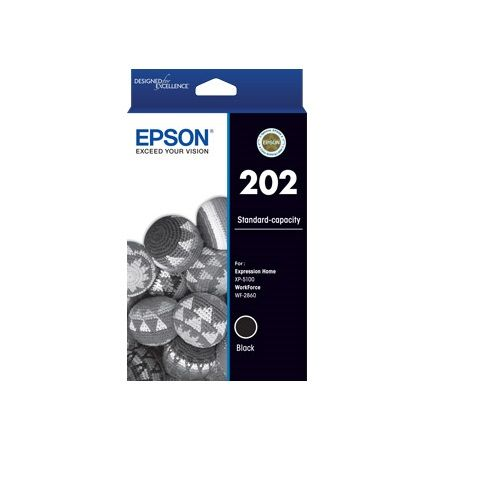 Epson 202 Black (C13T02N192) (Genuine) title=