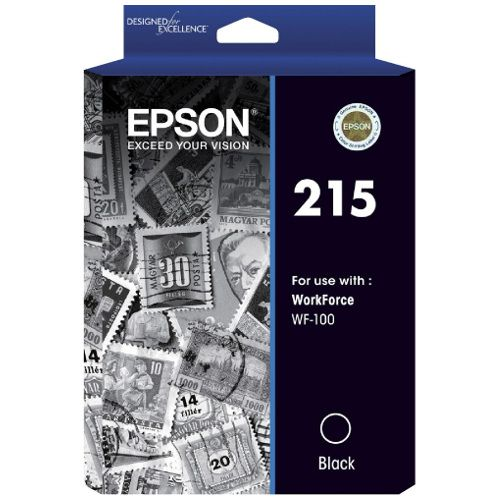 Epson 215 Black (C13T215192) (Genuine) title=