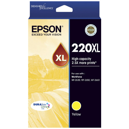 Epson 220XL Yellow High Yield (C13T294492) (Genuine)