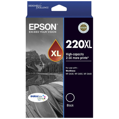 Epson 220XL Black High Yield (C13T294192) (Genuine) title=
