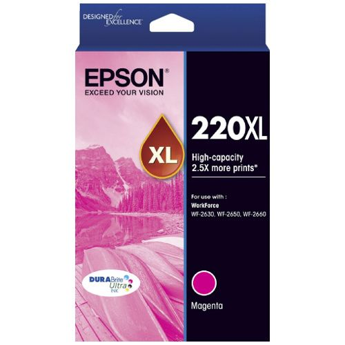 Epson 220XL Magenta High Yield (C13T294392) (Genuine) title=