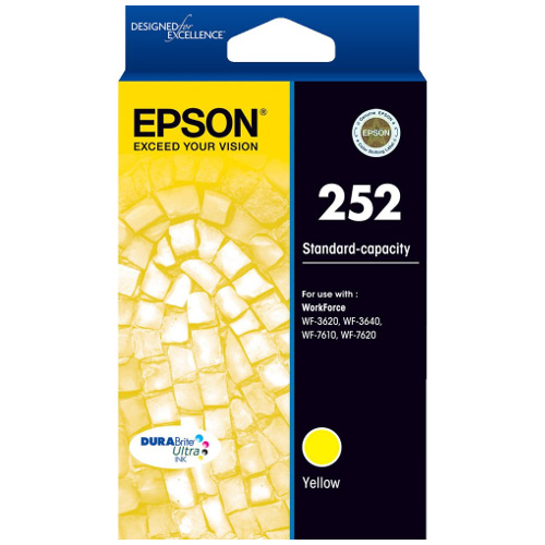 Epson 252 Yellow (C13T252492) (Genuine) title=