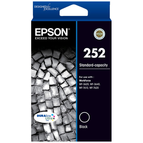 Epson 252 Black (C13T252192) (Genuine) title=