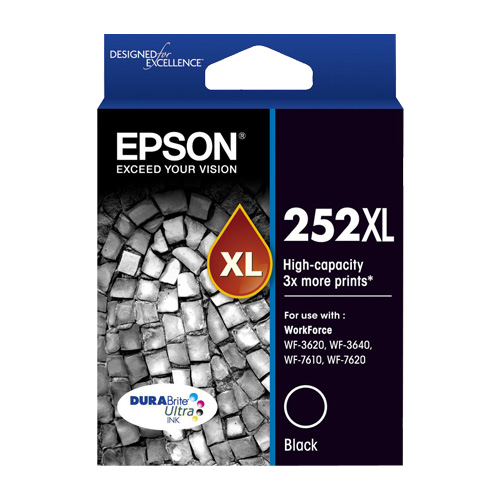 Epson 252XL Black High Yield (C13T253192) (Genuine) title=