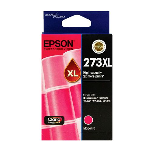Epson 273XL Magenta High Yield (C13T275392) (Genuine) title=