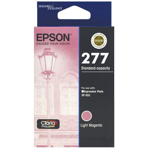 Epson 277 Light Magenta (C13T277692) (Genuine) title=