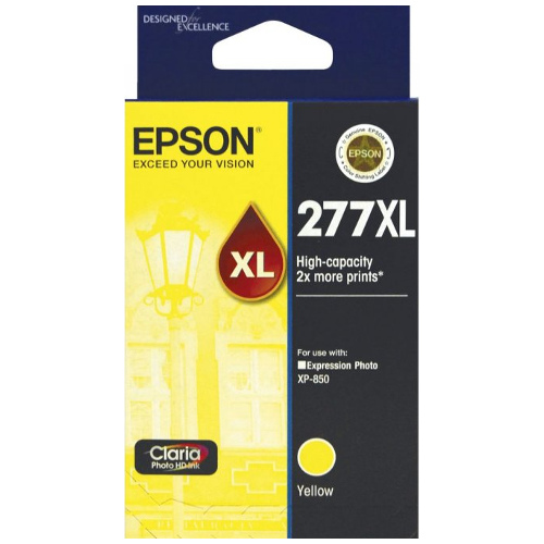 Epson 277XL Yellow High Yield (C13T278492) (Genuine) title=