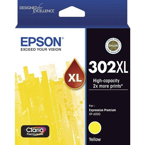 Epson 302XL Yellow High Yield (Genuine) title=