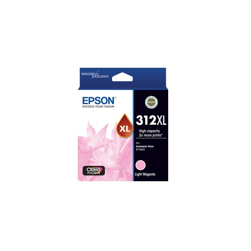 Epson 312XL Light Magenta High Yield Ink Cartridge (Genuine) title=