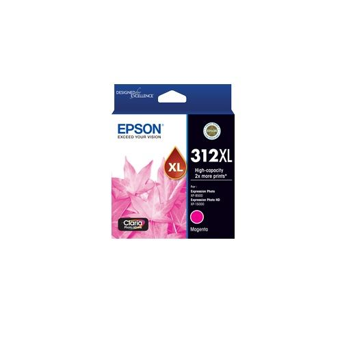 Epson 312XL Magenta High Yield Ink Cartridge (Genuine) title=