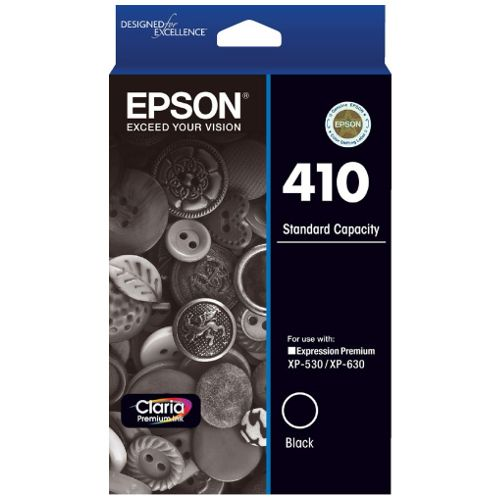 Epson 410 Black (Genuine) title=