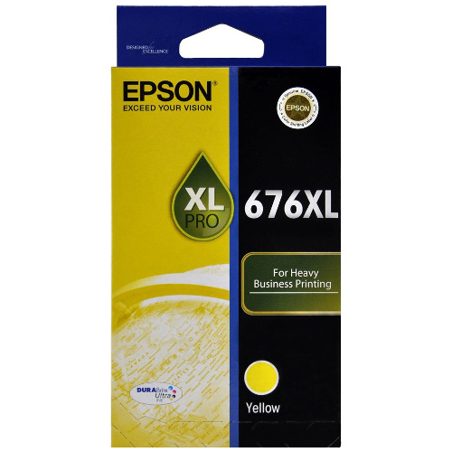 Epson 676XL Yellow High Yield (C13T676492) (Genuine) title=