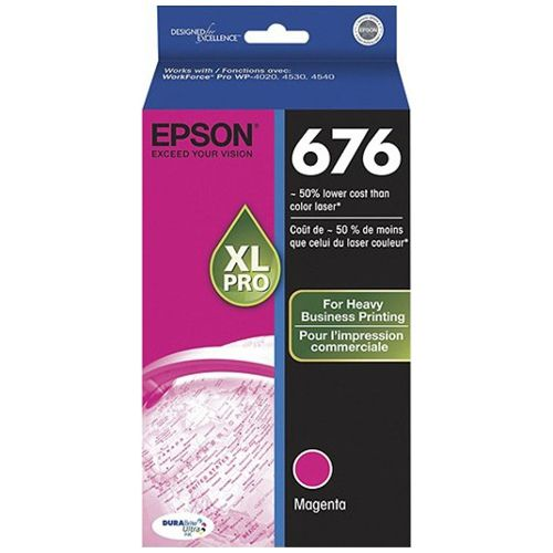 Epson 676XL Magenta High Yield (C13T676392) (Genuine) title=