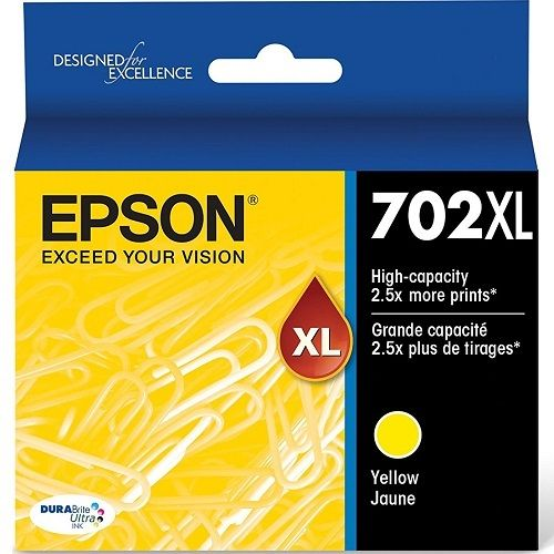 Epson 702XL Yellow High Yield (Genuine) title=